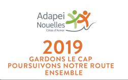L'Adapei-Nouelles Côtes d'Armor vous souhaite une excellente année 2019