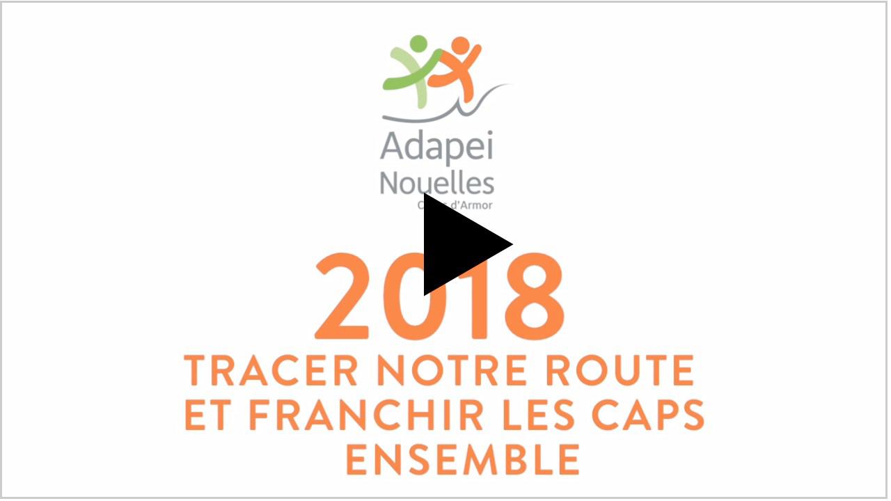 L'Adapei-Nouelles Côtes d'Armor vous souhaite une excellente année 2018