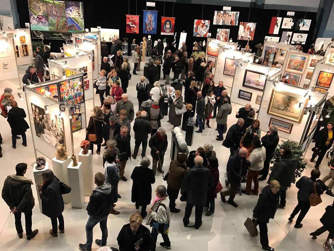 Biennale des peintres et sculpteurs : à la découverte des arts