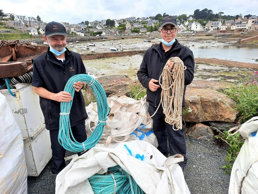 A Paimpol, on expérimente le recyclage des filets de pêche